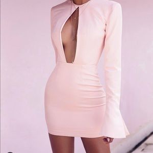 House Of CB Pretty in Pink Serena Dress